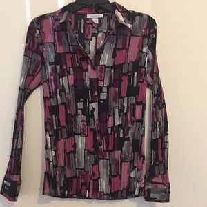 Dressbarn Button Down Blouse